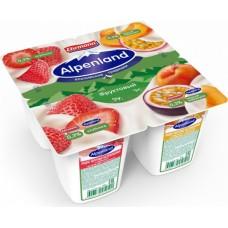 """Продукт йогурт """"Альпенленд"""" клубника/персик/марак. 0,3% 95г"""