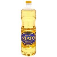 """Масло """"Злато"""" подсол.раф. 1л"""