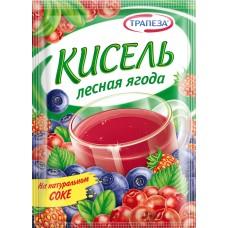 """Кисель """"Трапеза"""" Лесная ягода 100гр"""