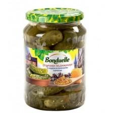 "Огурчики по-дижонски с мёдом ""Bonduelle"" ст/б 720мл"